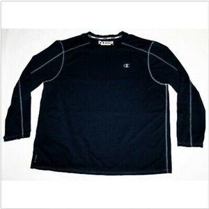 Champion POWERTRAIN Vapor Long Sleeve Athletic Shi